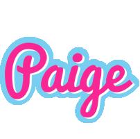 Paige popstar logo