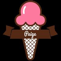 Paige premium logo