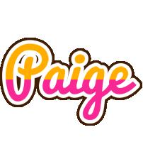 Paige smoothie logo