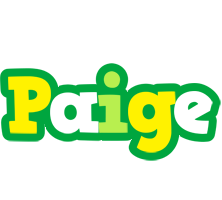 Paige soccer logo