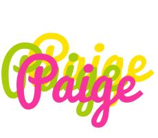 Paige sweets logo