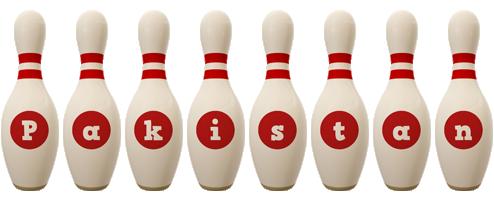 Pakistan bowling-pin logo