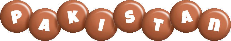 Pakistan candy-brown logo