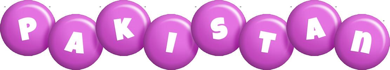 Pakistan candy-purple logo