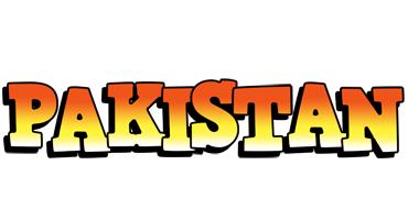 Pakistan sunset logo