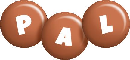 Pal candy-brown logo