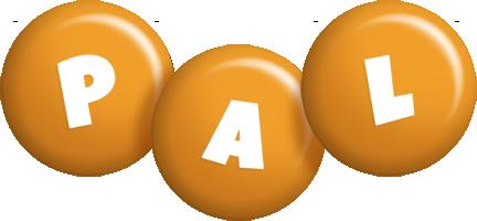 Pal candy-orange logo