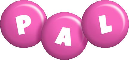 Pal candy-pink logo