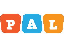 Pal comics logo