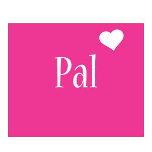 Pal love-heart logo