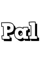 Pal snowing logo