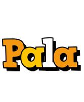 Pala cartoon logo