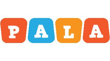 Pala comics logo