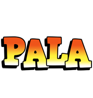 Pala sunset logo