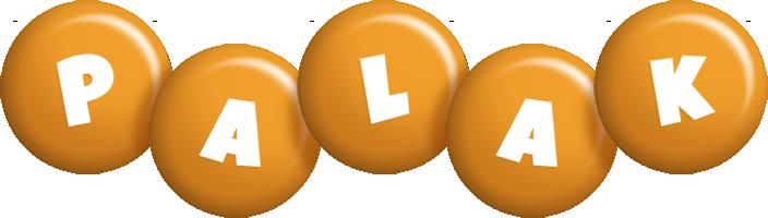 Palak candy-orange logo