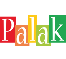Palak colors logo