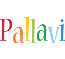 Pallavi birthday logo