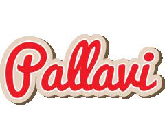 Pallavi chocolate logo