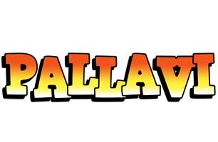 Pallavi sunset logo