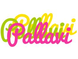 Pallavi sweets logo