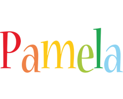 Pamela birthday logo