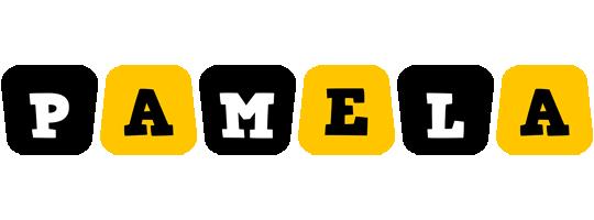 Pamela boots logo