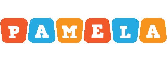Pamela comics logo