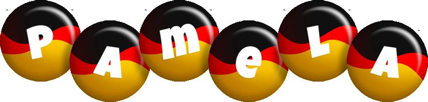 Pamela german logo
