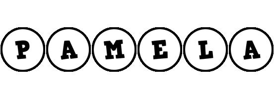 Pamela handy logo