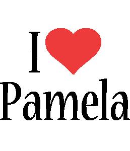 Pamela i-love logo