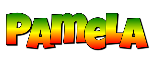 Pamela mango logo