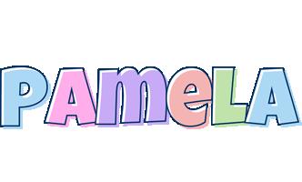 Pamela pastel logo