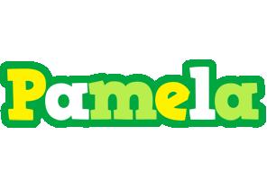 Pamela soccer logo