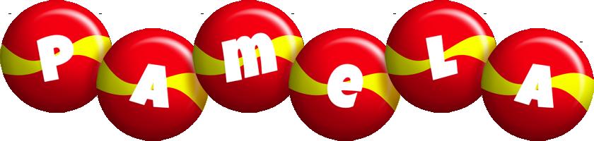 Pamela spain logo