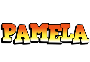 Pamela sunset logo