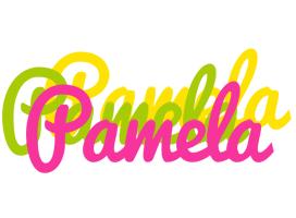 Pamela sweets logo