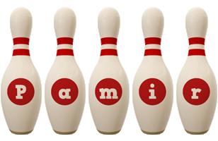 Pamir bowling-pin logo