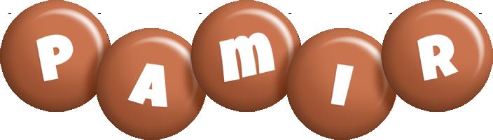 Pamir candy-brown logo