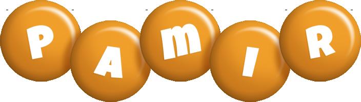 Pamir candy-orange logo