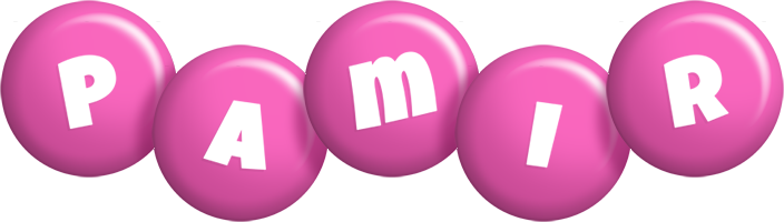 Pamir candy-pink logo