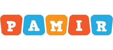 Pamir comics logo