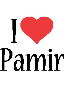 Pamir i-love logo
