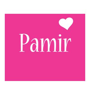 Pamir love-heart logo