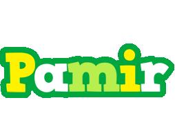 Pamir soccer logo