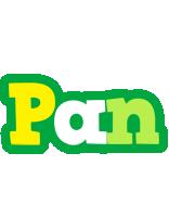 Pan soccer logo