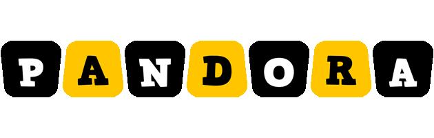 Pandora boots logo