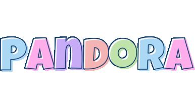 Pandora pastel logo