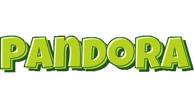 Pandora summer logo