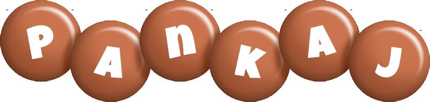 Pankaj candy-brown logo