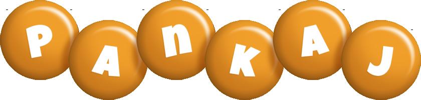 Pankaj candy-orange logo
